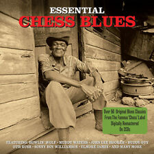 Essential Chess Blues VARIOUS ARTISTS Best Of 56 Songs MUSIC COLLECTION New 2 CD
