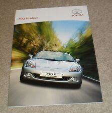 Toyota MR2 Roadster Brochure 2004 - 1.8 VVTI