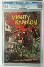 Mighty Samson #10 CGC 8.5 Jack Sparling Art! (Free Shipping) Painted Cover