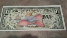 2005 DISNEY DOLLARS $1 Bill DUMBO The Circus ELEPHANT Classic CRISP CLEAN New