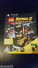 LEGO Batman 2: DC Super Heroes Limited Lex Luthor Toy Edition Ps3 Game New &Seal