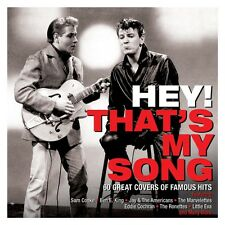 Hey! That's My Song VARIOUS ARTISTS Best Of 60 Covers Of Famous Hits NEW 3 CD