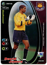 David James West Ham #240 Football Champions TCG 2001-2 Trade Card (C245)