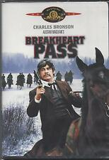 BREAKHEART PASS Charles Bronson Ben Johnson Charles Durning NEW MGM WESTERN DVD