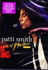 Patti Smith Live at Montreux 2005 DVD Nuovo OVP/SEALED