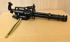 "1/6 Toy Gatling Machine Gun Miniature Firearm 12"" Action Figure Weapon Model"