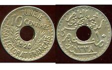TUNISIE TUNISIA 10 centimes 1920    ( it )