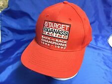 CART Indy 500 1996-97 GANASSI RACING CHAMPIONSHIP Embroidered Logos Hat NEW