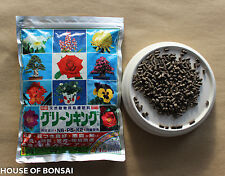 Japanese Green King  Bonsai tree organic fertilizer 1kg, w/ bonsai soil guide