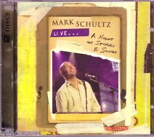 MARK SCHULTZ Live NIGHT OF STORIES SONGS CD DVD Set Classic Christian  Great