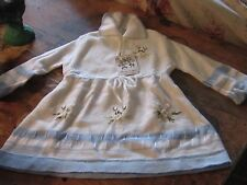 NEW NOS vintage baby giirl Rosa Grazia Italian embroidered  sweater vintage chic