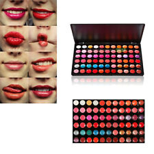 Professional 66 Colors Makeup Lip Gloss Palette Smooth Cosmetic Charm Lipstick