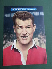MEL CHARLES  - SWANSEA TOWN  PLAYER-1 PAGE MAGAZINE PICTURE- CLIPPING/CUTTING