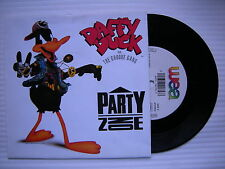 Daffy Duck Feat. The Groove Gang - Party Zone, WEA YZ592 Ex Condition 7""