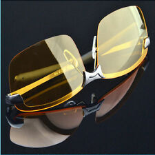 Men High-End Night Vision Polarized UV400 Driving Glasses Aviator Sunglasses