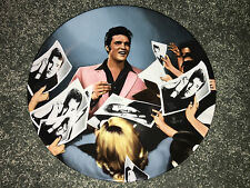 ELVIS PRESLEY Looking At A Legend STAGE DOOR AUTOGRAPHS Delphi COLLECTIBLE PLATE