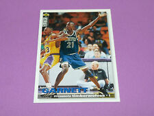 KEVIN GARNETT MINNESOTA TIMBERWOLVES UPPER DECK C.C. 1995 NBA BASKETBALL CARD