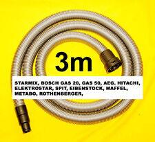 starmix Industriesauger Saugschlauch 3m Staubsaugerschlauch fü ROTHENBERGER 1200