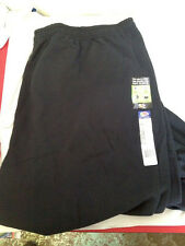 MEN'S FRUIT OF THE LOOM SWEATPANTS SIZE 4XL BRAND NEW COLOR BLACK