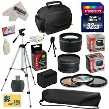 Ultimate Accessory Kit for Sony FDR-AX100 Video Camera Camcorder Includes - 3...