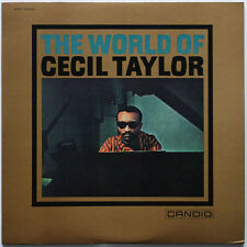 Cecil Taylor The World of .. on Candid - Japan LP