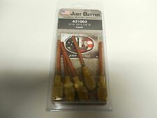 """NEW LOT OF 5 JUST BETTER TUBE EXTENSION A31003 3/16"""" OD x 1/8"""" ID"""