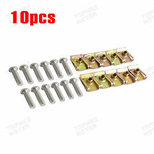 10PCS Fairing Speed Clip Lug Nuts Standard Stainless Bolts M6 Racing Sport Bike