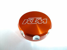 KTM 690 DUKE REAR BRAKE MASTER CYLINDER SCREW TOP LID CAP ORANGE B12A