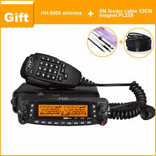 TYT TH-9800 Mobile Car Radio Quad Band 29/50/144/430MHZ Transceiver+Antenna+Base