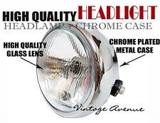 """YAMAHA XT125 XT250 XT400 XT500 XT550 HEAD LAMP 6V + CASE 6"""" [V]"""