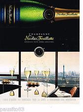 PUBLICITE ADVERTISING 065  2014  NICOLAS FEUILLATTE   champagne