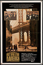 ONCE UPON A TIME IN AMERICA 1984 1sh Sergio Leone Robert DeNiro filmartgallery