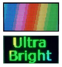 """25""""x 12"""" Full Color Semi Outdoor LED Sign Programmable Scrolling Message Board"""