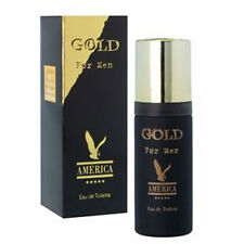 MILTON LLOYD AMERICA GOLD 50ML MENS EAU DE TOILETTE / AFTERSHAVE