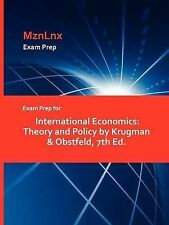 Exam Prep for International Economics: Theory and Policy by Krugman & Obstfeld,