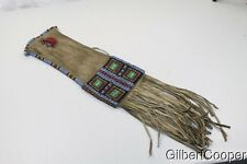 SIOUX BEADED INDIAN PIPE BAG