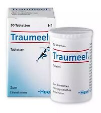 Traumeel S 50 tablets  Anti-Inflammatory Pain Relief Analgesic  Homeopathic