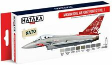 Hataka Hobby AS52 Modern Royal Air Force 1990s-Present Vol. 1 Paint Set