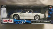 Shelby Series 1 In A White 118 Scale Diecast With Opening Doors By Maisto  dc190