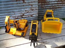 TOY FORKLIFT & CATERPILLAR BULLDOZER & EXCAVATOR CRANE/ CONSTRUCTION TOY TRUCK