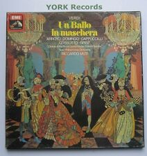 SLS 984 - VERDI - Un Ballo In Maschera ARROYO / DOMINGO - Ex 3 LP Record Box Set