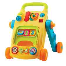 Electronic 2 in 1 Baby Toddler Activity Walker Learning Play Centre Toy Gift New