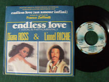 """DIANA ROSS & LIONEL RICHIE : Endless love (BO film) 7"""" 1981 French MOTOWN 101540"""