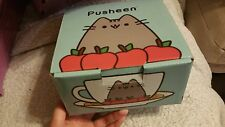 Pusheen Box Fall 2016 Exclusive Tea Cup Set Saucer Apples Pie Sold Out
