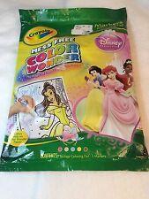 Disney Princess's Crayola Color Wonder Mini Coloring Pad and Magic Markers