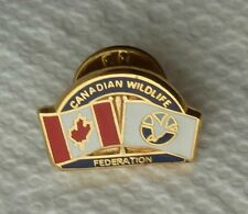 Canadian Wildlife Federation Lapel Souvenir Pin