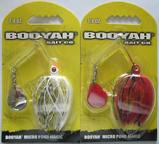 2 - BOOYAH BAIT  Micro Pond Magic - 1/8 oz. - Alpine & Fire Ant