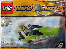 30031 POWERBOAT RACE BOAT promo city town lego minifigure NEW poly bag legos set