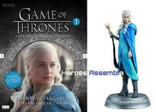 GAME OF THRONES COLLECTOR'S MODELS #1 DAENERYS TARGARYEN EAGLEMOSS FIGURINE HBO