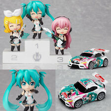 Nendoroid Petite Racing Miku Set 2011 Version Vocaloid Anime Figure Good Smile